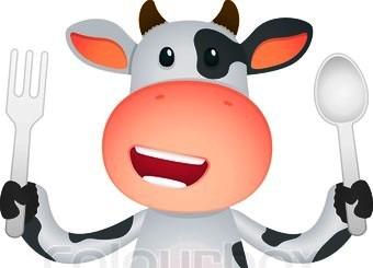 πεινασμένη αγελάδα